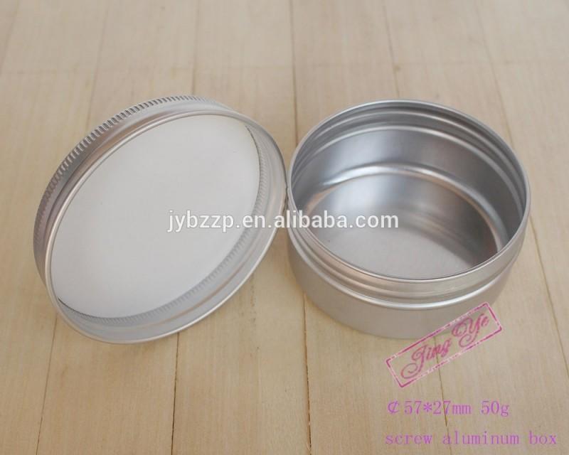 空の小さな錫茶ことで気密金属蓋、アルミスパイス缶塩錫-缶問屋・仕入れ・卸・卸売り