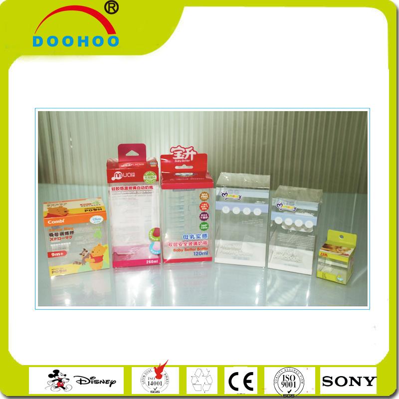 ソフト折り目自動底クリアプラスチック包装箱、pet/pp/pvcボックス-梱包箱問屋・仕入れ・卸・卸売り