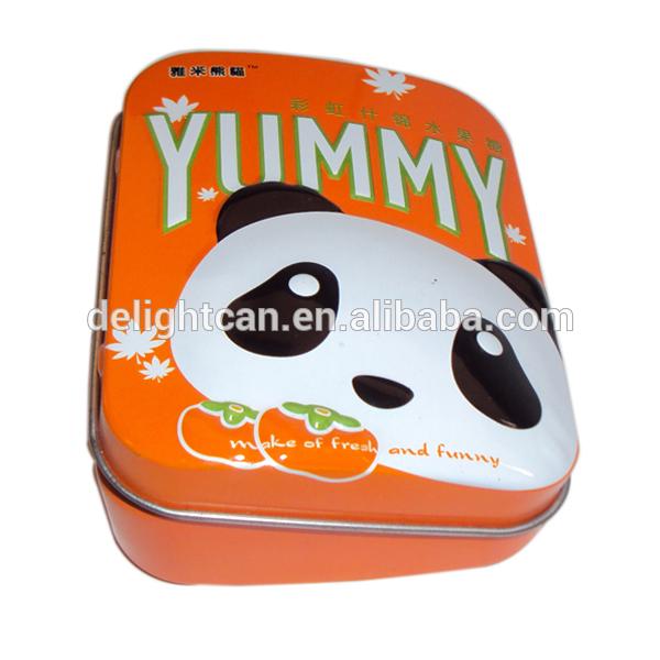 パンダキャンディ甘い包装ブリキの箱-梱包箱問屋・仕入れ・卸・卸売り