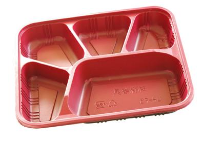分割された使い捨て食品容器-包装用トレー問屋・仕入れ・卸・卸売り