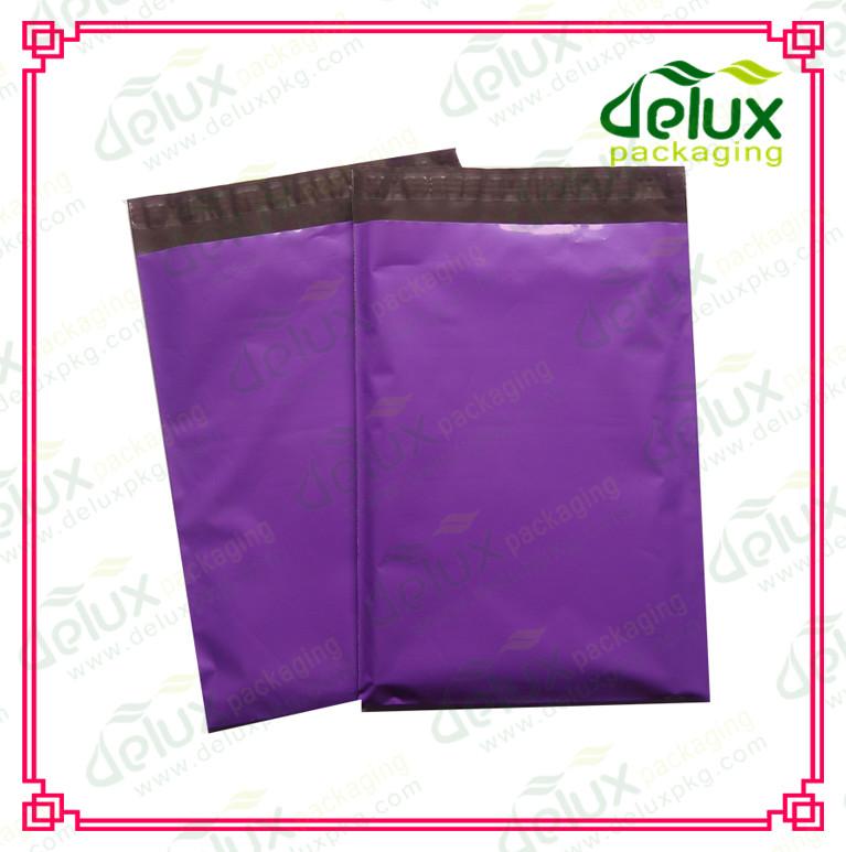 ポリエチレン郵送袋のエンベロープ紫色紫色ポリメーラー-郵送用封筒問屋・仕入れ・卸・卸売り