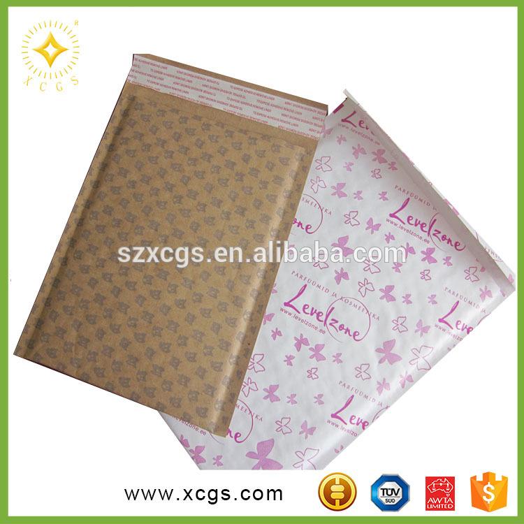 アリババ中国卸売高品質クラフトバブル封筒パッキングメーラーバッグ用梱包化粧品-郵送用封筒問屋・仕入れ・卸・卸売り