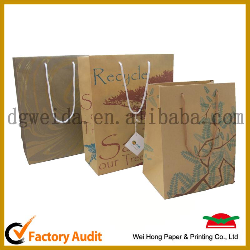 ホット販売ブラウンクラフト紙バッグ-包装袋問屋・仕入れ・卸・卸売り