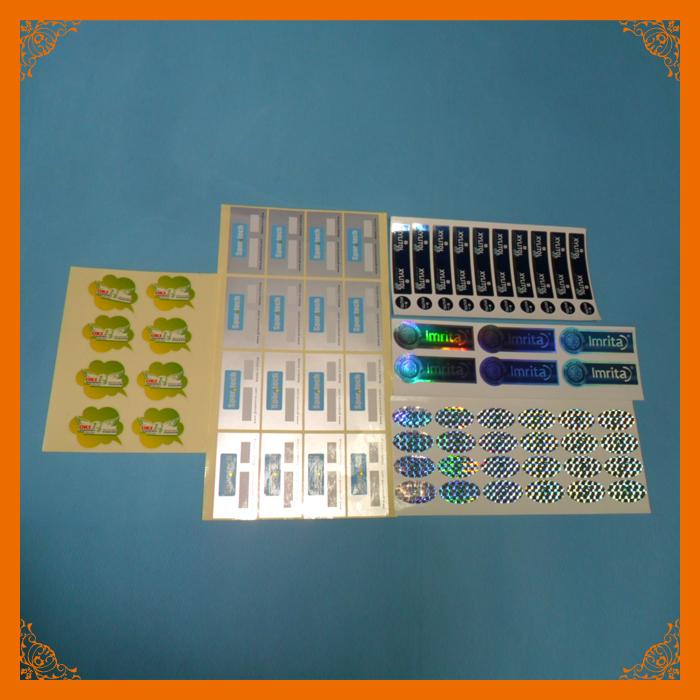 抗- 盗難証明書のホログラムステッカー印刷-包装ラベル問屋・仕入れ・卸・卸売り