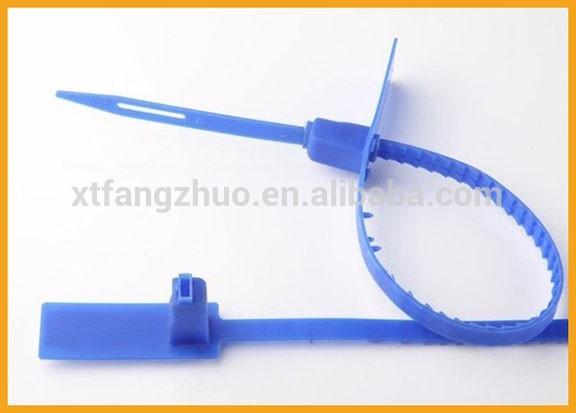 Fz新しいデザイン調節可能な長さナイロンプラスチックロック安全シール-包装ラベル問屋・仕入れ・卸・卸売り