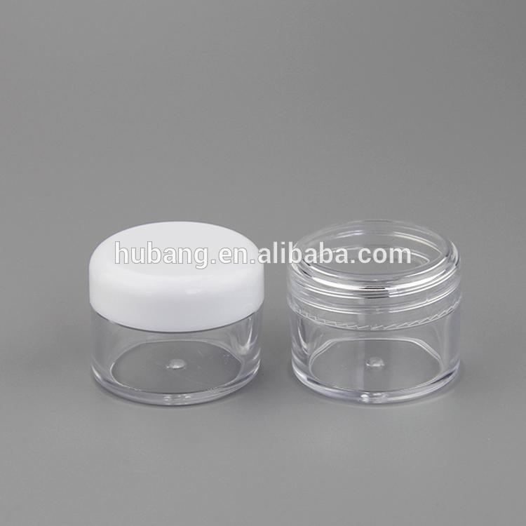 熱い販売安いカスタム- は丸い30ミリリットルプラスチック製の空のpsのスキンケアクリームの瓶-瓶、容器類問屋・仕入れ・卸・卸売り