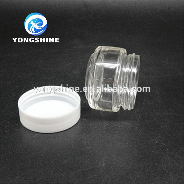 ガラスクリームジャーボリューム43グラム、10ミリリットル小さなクリーム化粧品ガラスジャー-問屋・仕入れ・卸・卸売り