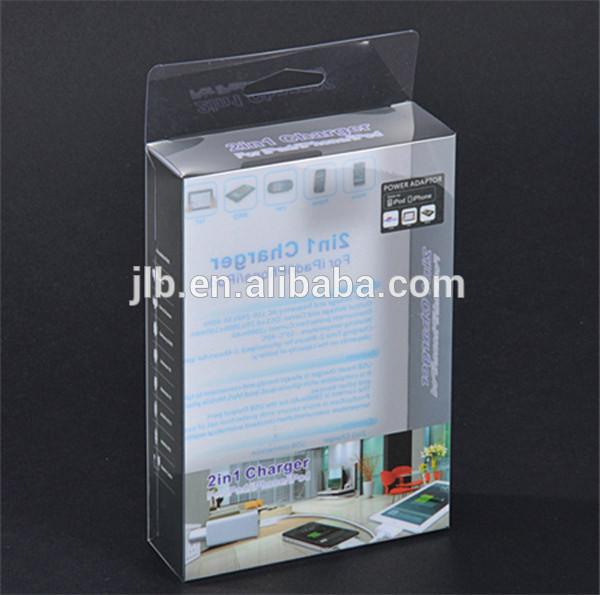 オフセット印刷のための明確なポリ塩化ビニール箱電子製品の包装、 携帯電話アクセサリパッケージ-梱包箱問屋・仕入れ・卸・卸売り
