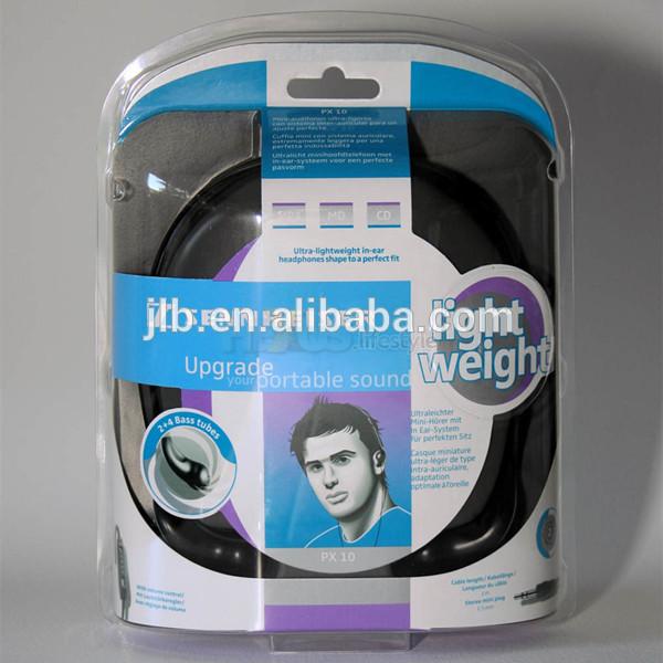 カスタム段ボール包装安い高品質ヘッドフォンイヤホンのパッケージ-梱包箱問屋・仕入れ・卸・卸売り