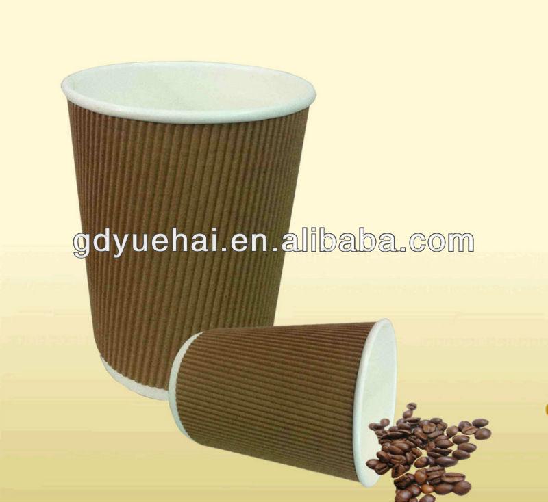 高品質リップル壁用の紙コップ-パッケージカップ、ボーリング問屋・仕入れ・卸・卸売り