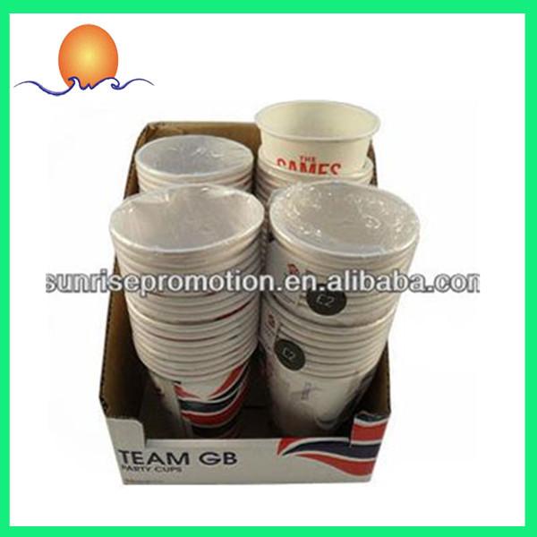 カスタム印刷されたロゴのコーヒーの紙コップ-パッケージカップ、ボーリング問屋・仕入れ・卸・卸売り