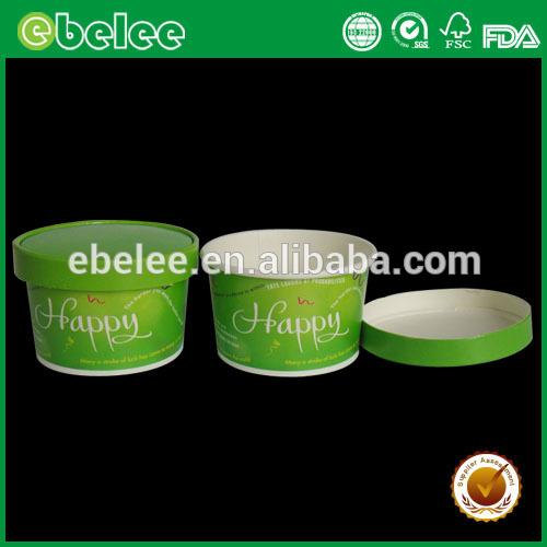 デザインのアイスクリームカップ紙蓋-パッケージカップ、ボーリング問屋・仕入れ・卸・卸売り