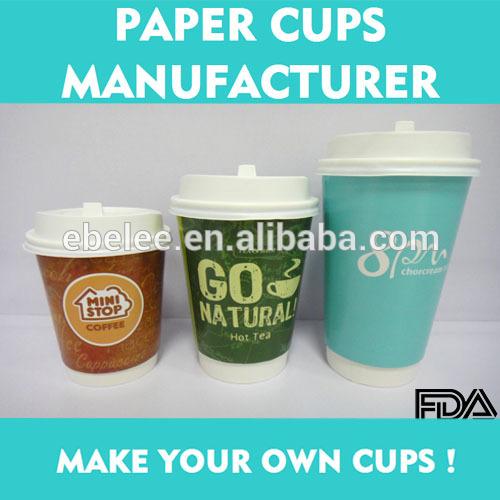 断熱8oz/12oz/16オンスカスタマイズ印刷された紙のコーヒーの紙コップ-パッケージカップ、ボーリング問屋・仕入れ・卸・卸売り