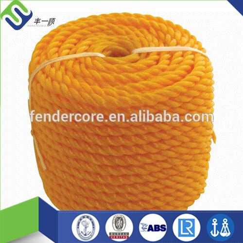 新しい来る 3 strands着色さ れ た pp モノ フィラメント ねじれ た ロープ-問屋・仕入れ・卸・卸売り