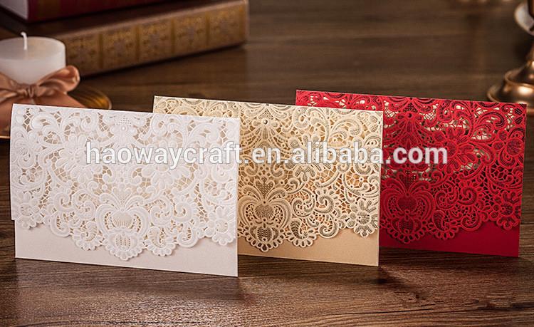 豪華な結婚式の招待カード-アンティーク、イミテーション工芸品問屋・仕入れ・卸・卸売り