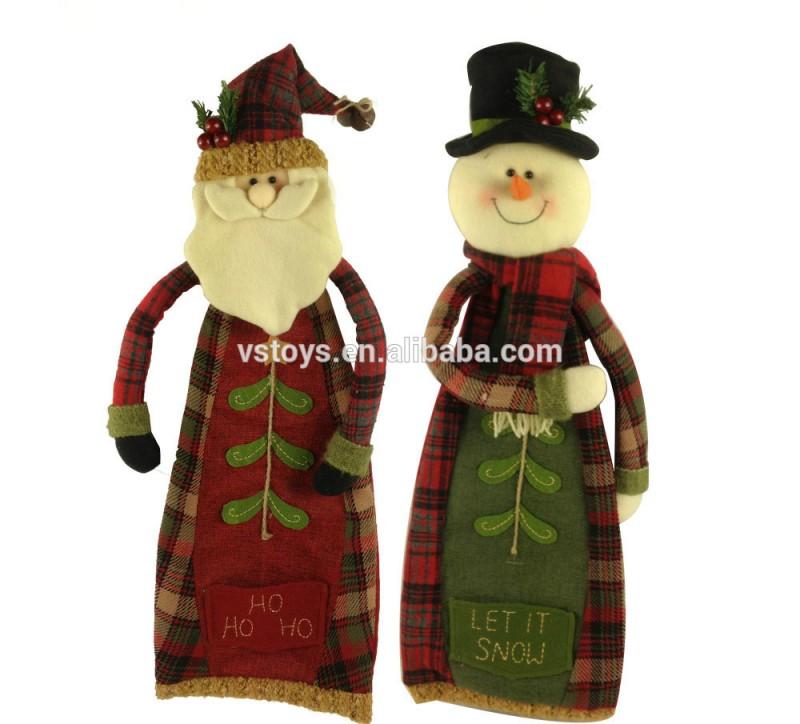 サンタ雪だるまハンドワーククリスマス装飾-クリスマスデコレーション用品問屋・仕入れ・卸・卸売り