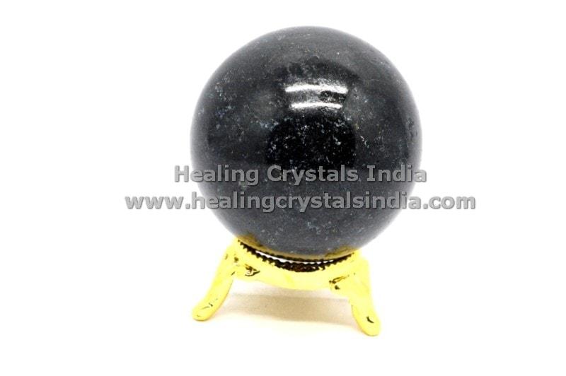 35〜150ミリメートル天然水晶原石球ナチュラルブラックトルマリン球ボール-クリスマスデコレーション用品問屋・仕入れ・卸・卸売り