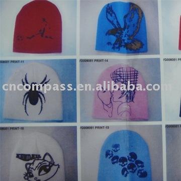 印刷帽子-織物と織物工芸問屋・仕入れ・卸・卸売り