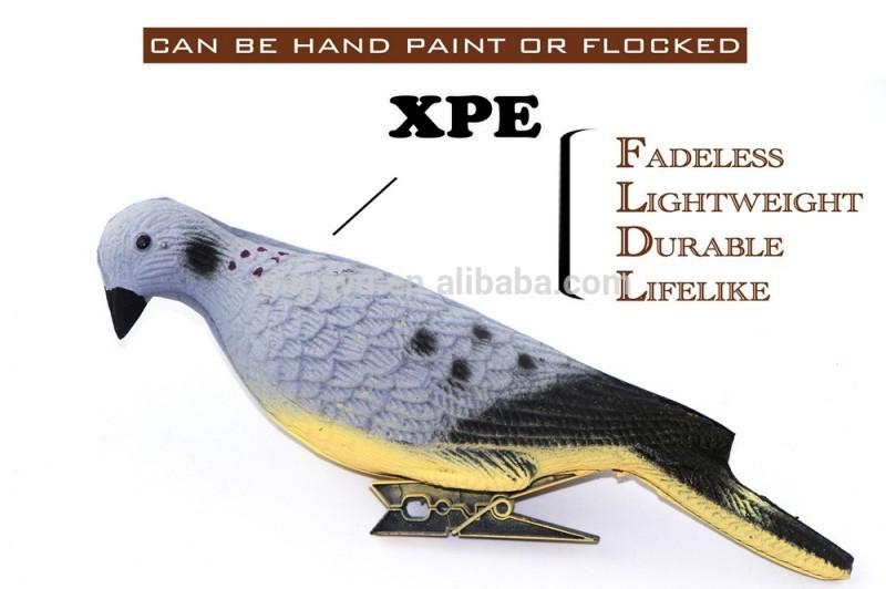 Peピジョン鳩装飾用ガーデン、フルボディハンド絵画ピジョン狩猟おとり-樹脂工芸品問屋・仕入れ・卸・卸売り