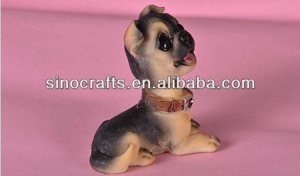 頭を振るhomedecoration樹脂の犬の像-樹脂工芸品問屋・仕入れ・卸・卸売り