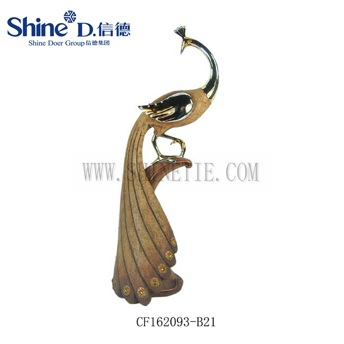 優雅な樹脂ピーコック像家の装飾孔雀彫刻の装飾-問屋・仕入れ・卸・卸売り
