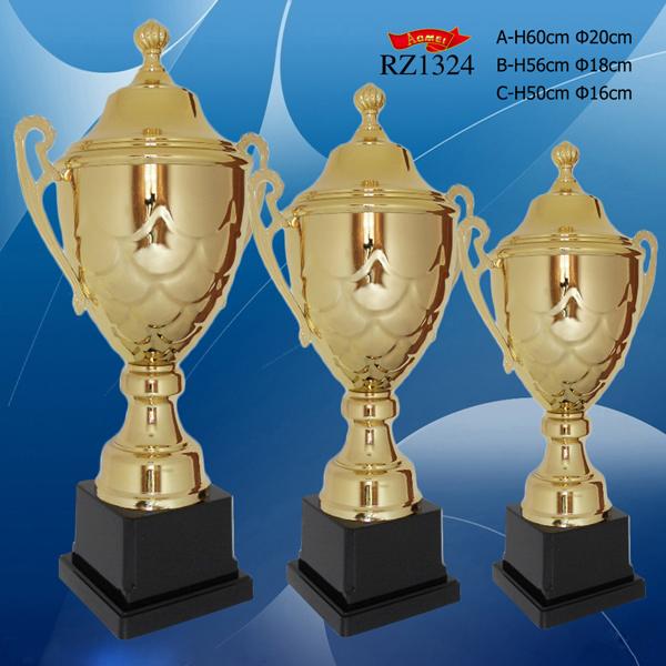 カスタムシルバー/ゴールド/ブロンズ賞受賞メタルトロフィーでレーザーロゴ-金属工芸品問屋・仕入れ・卸・卸売り