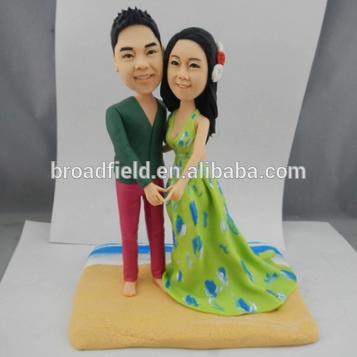 人気の カスタムポリマー粘土へ ま ヘッド ケーキ トッパー結婚式誕生日ギフト-ウエディングデコレーション、ギフト問屋・仕入れ・卸・卸売り