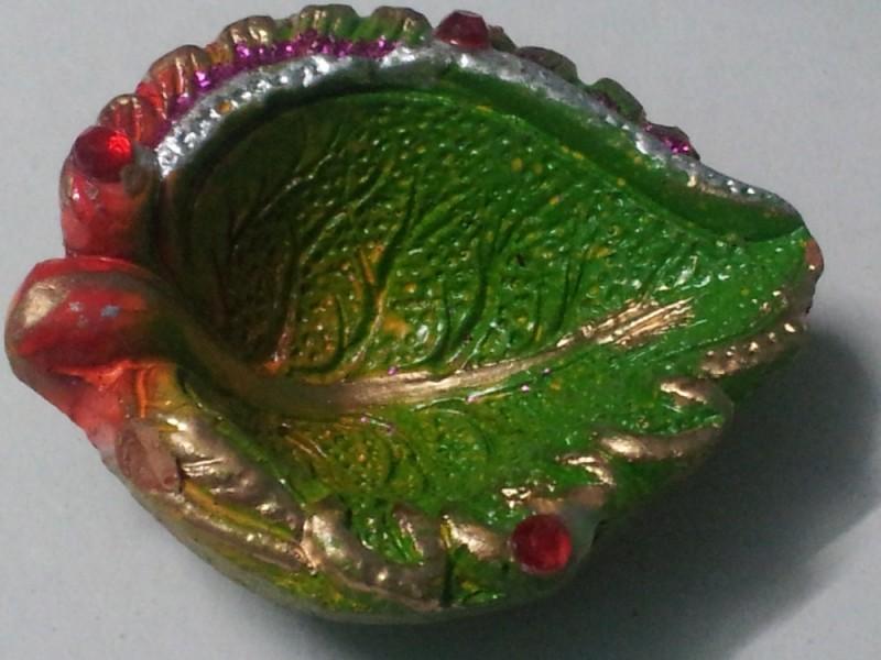 装飾的な粘土diyas-航海上の工芸問屋・仕入れ・卸・卸売り
