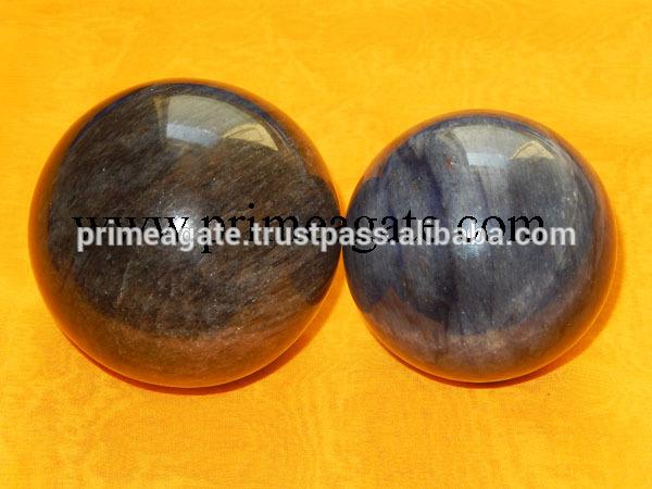 トップ品質半貴石ブルーアベンチュリンボール用販売-半貴石工芸品問屋・仕入れ・卸・卸売り