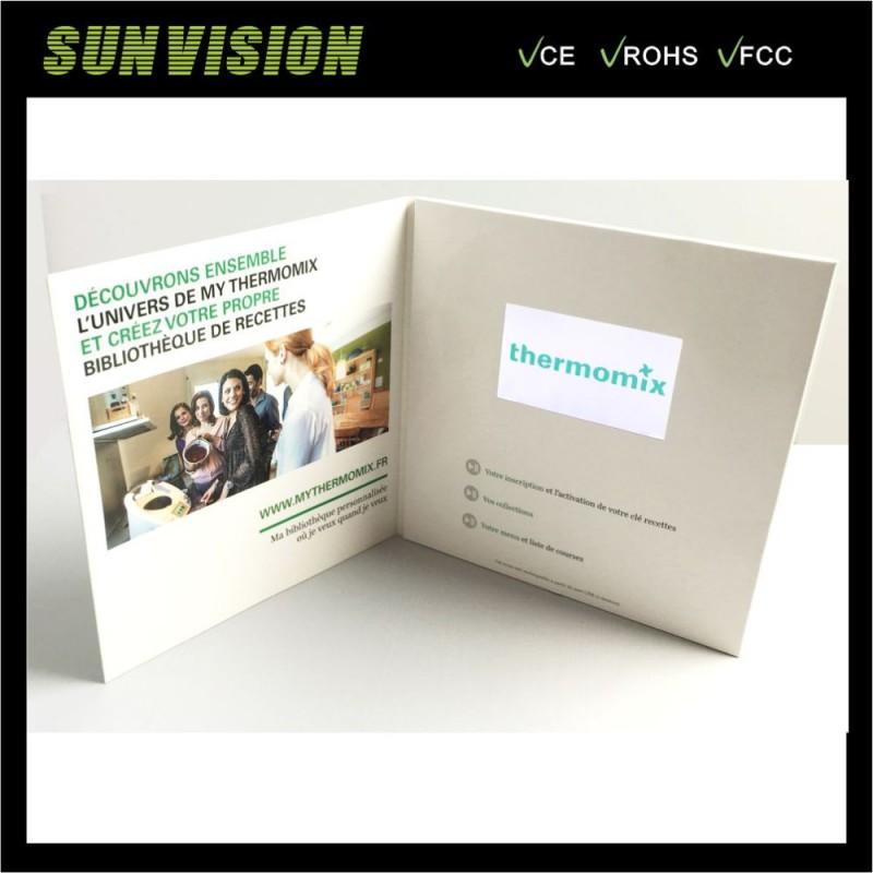 グリーティングカードタイプと4.3インチlcdビデオグリーティングカード-造花問屋・仕入れ・卸・卸売り