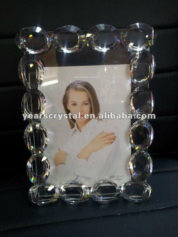 販売クリスタルガラスダイヤモンド写真画像フレーム用プレゼントギフト( R-1130)-フレーム問屋・仕入れ・卸・卸売り
