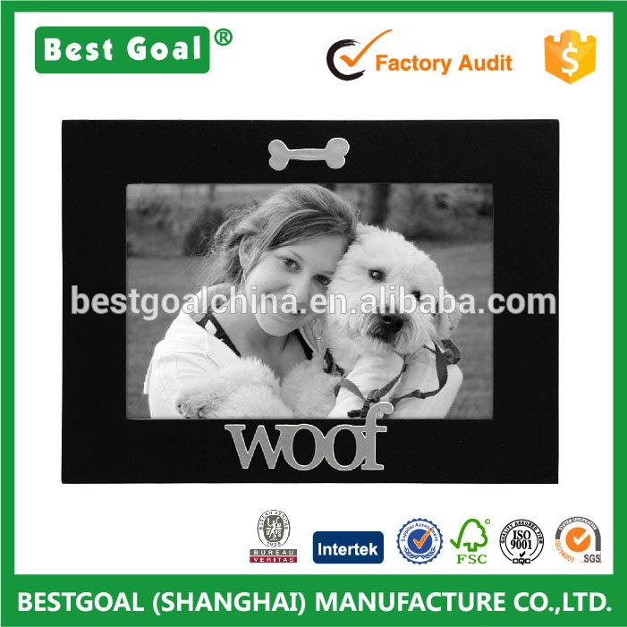 横糸表現木製あなたの犬のためのペットの写真フレーム-フレーム問屋・仕入れ・卸・卸売り