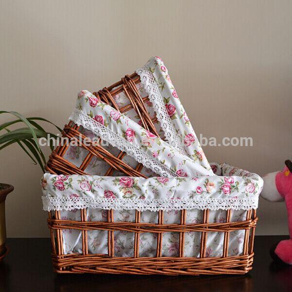 織籐子供たちのピクニックバスケットペグ-アンティーク、イミテーション工芸品問屋・仕入れ・卸・卸売り