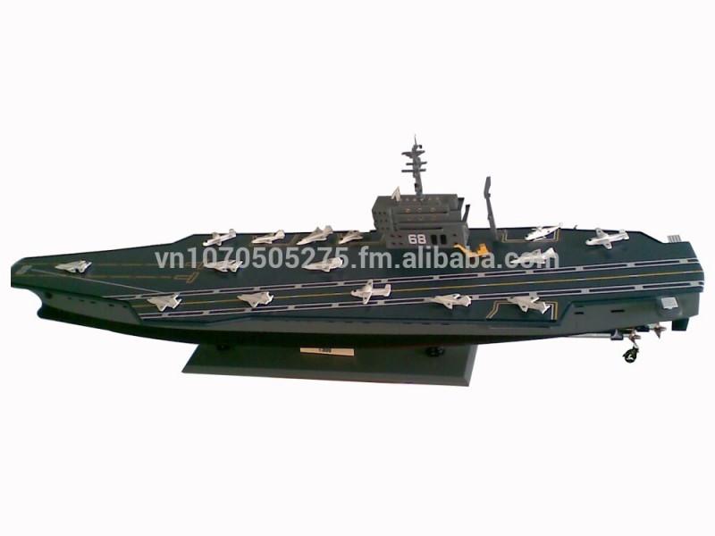 Ussニミッツ(CVN-68)空母木製戦争シップモデル-芸術コレクター商品問屋・仕入れ・卸・卸売り