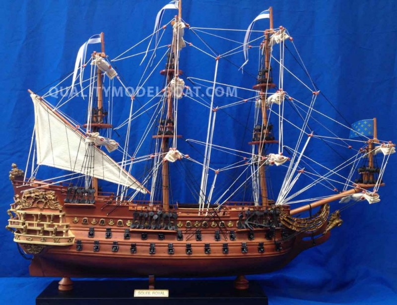 ソレイユ王室木造船のモデル-芸術コレクター商品問屋・仕入れ・卸・卸売り