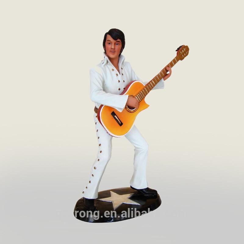 有名な歌手スターエルビスプレスリーの彫像小さなサイズ芸術とクラフトpolyresinのミュージシャンの置物-芸術コレクター商品問屋・仕入れ・卸・卸売り