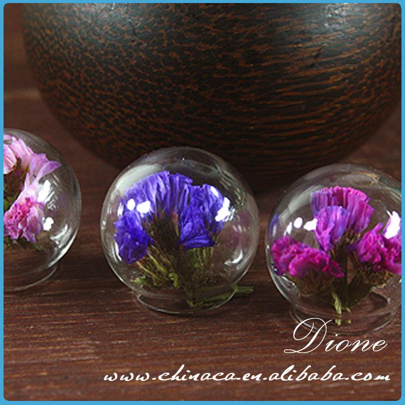 装飾的な人工的なガラス玉での花のアレンジメント-民芸品問屋・仕入れ・卸・卸売り