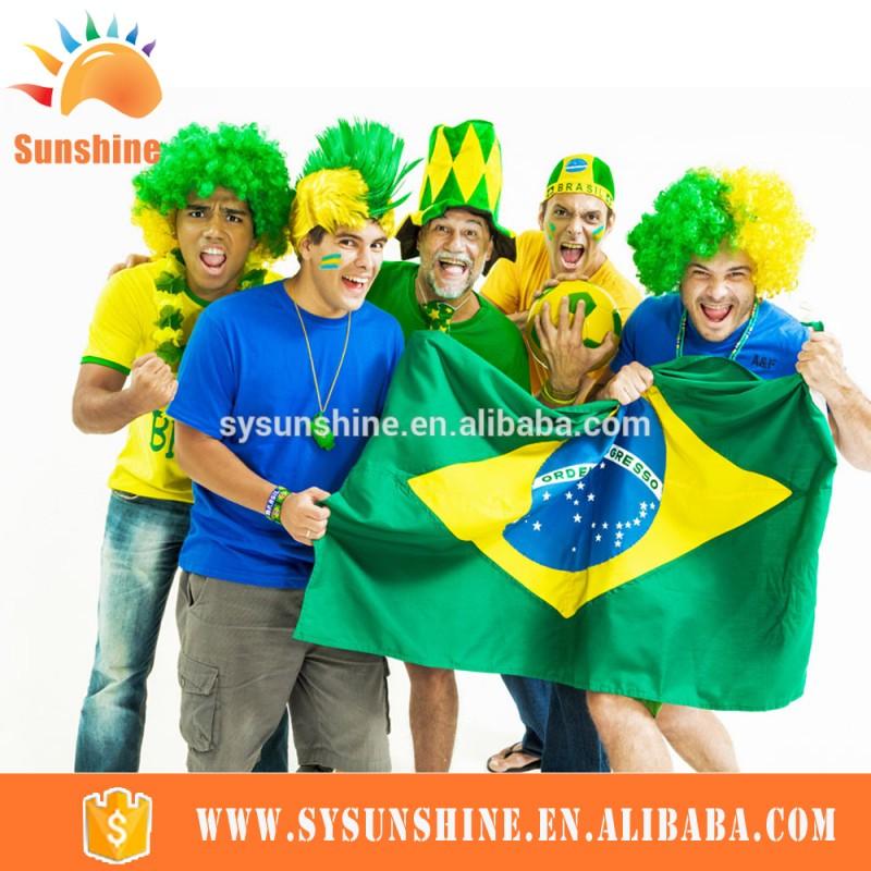 2016 100%ポリエステル高品質ベストセラーすべてイベントブラジルと異なる国国旗-旗、バナー、およびアクセサリー問屋・仕入れ・卸・卸売り