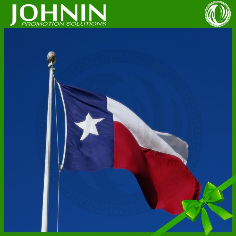 高速高品質販促カスタム3*5ftテキサス州旗ポリエステルプリント-旗、バナー、およびアクセサリー問屋・仕入れ・卸・卸売り
