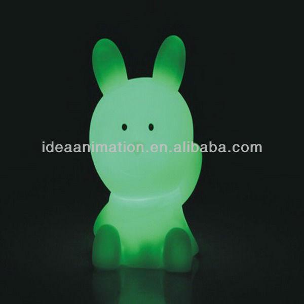 Vinlyoem主導動物光色変化図- ウサギ-造花問屋・仕入れ・卸・卸売り