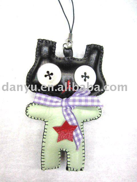 ボタン人形用キーホルダー、携帯電話ストラップ-造花問屋・仕入れ・卸・卸売り