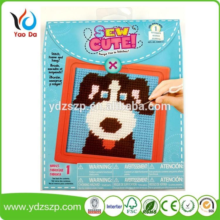 新しいクリエイティブ子供diyクロスステッチクラフトセット用子供-織物と織物工芸問屋・仕入れ・卸・卸売り