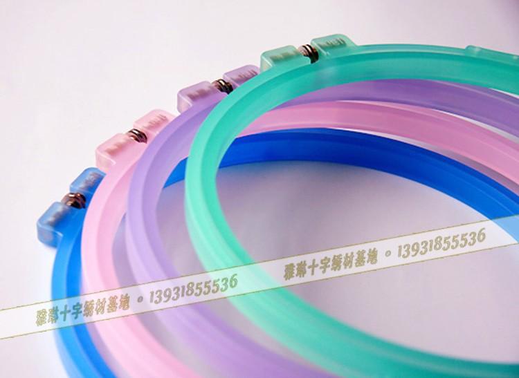 中国供給18cmすりガラスのalibabaの卸売りを作製クロスステッチ刺繍のフープ-芸術コレクター商品問屋・仕入れ・卸・卸売り