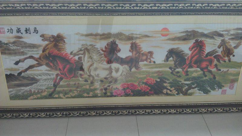 クロスステッチ画像8馬-造花問屋・仕入れ・卸・卸売り