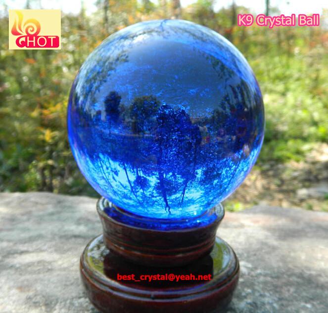 ホット販売k9材料工場価格150ミリメートル色の水晶玉水晶球-クリスタル製品問屋・仕入れ・卸・卸売り