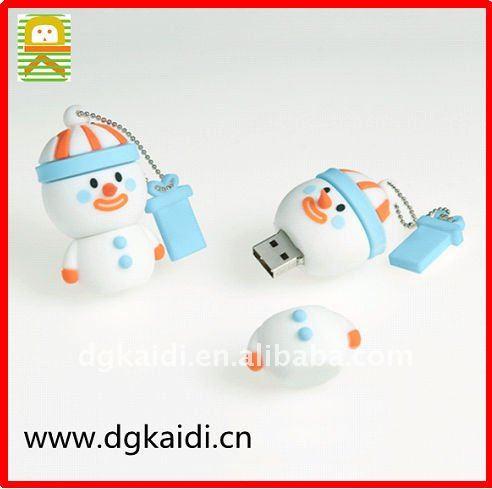 かわいいクリスマスのギフトの雪男usbフラッシュディスクカバー-ギフトセット問屋・仕入れ・卸・卸売り