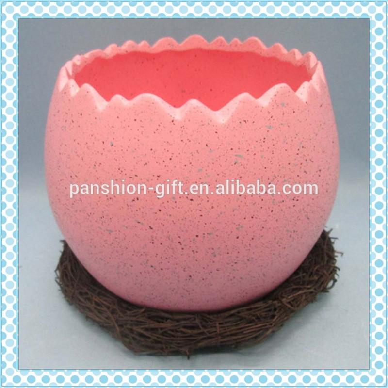 安い商品から中国セラミック イースター卵コンテナ で巣-問屋・仕入れ・卸・卸売り