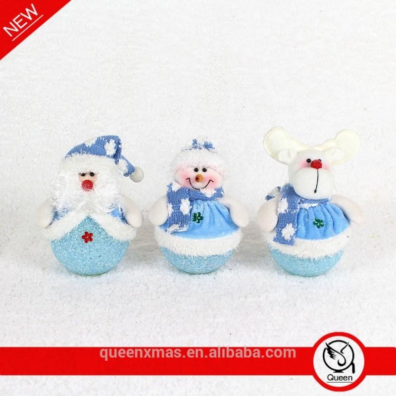 インチブルー6light_3asst白色ledクリスマスライトクリスマスサンタクロース雪だるまのトナカイ-その他イベント、パーティー用品問屋・仕入れ・卸・卸売り