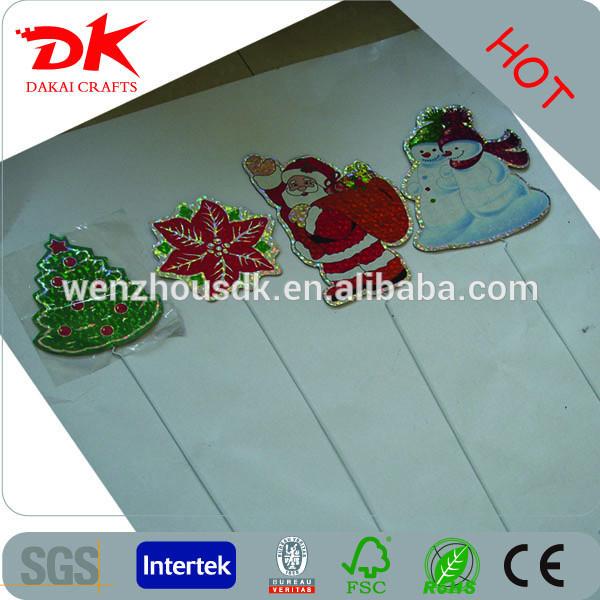 を雪だるま、サンタクロース、クリスマス村プラスチックサイン-その他イベント、パーティー用品問屋・仕入れ・卸・卸売り