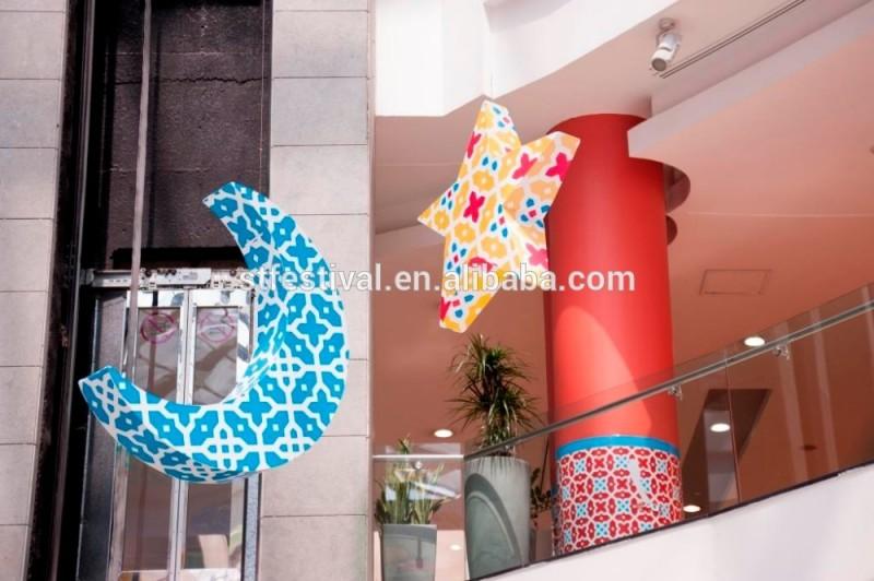ラマダン装飾ムーンとスターのためのショッピングモール-その他イベント、パーティー用品問屋・仕入れ・卸・卸売り